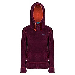 Regatta - Girls Blackcurrant hunny fleece