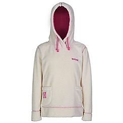 Regatta - Girls Polar bear white hunny fleece