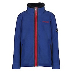 Regatta - Boys Surf blue basher full zip fleece