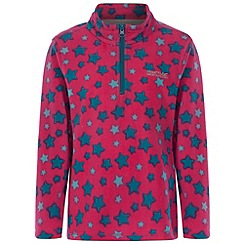 Regatta - Kids Pink Lovely jubblie half zip fleece