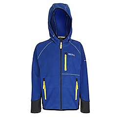 Regatta - Boys Blue whinfell full zip fleece