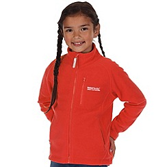 Regatta - Kids Orange marlin fleece jacket