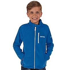 Regatta - Boys Deep blue marlin fleece jacket