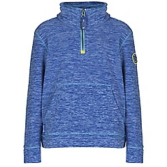 Regatta - Boys Blue berty pocket fleece