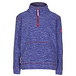 Regatta - Girls Purple berty pocket fleece
