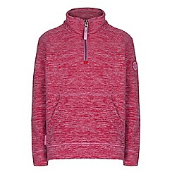 Regatta - Girls Pink berty pocket fleece