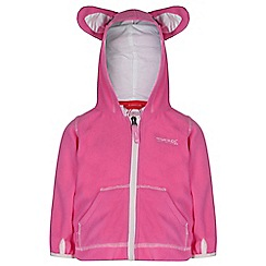 Regatta - Girls Pink kiddo novelty fleece