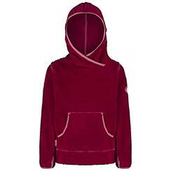 Regatta - Kids Dark pink Jafar fluffy fleece