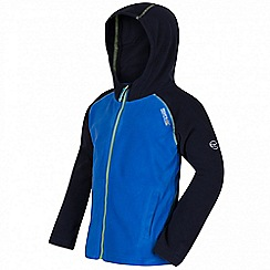Regatta - Boys' dark blue Upflow hooded fleece