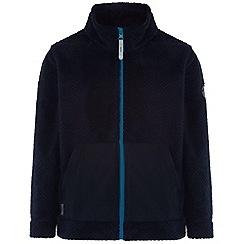 Regatta - Kids Navy Highwood zip through fleece