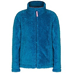 Regatta - Kids Blue Foxton zip through fleece