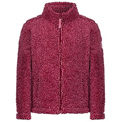 Regatta - Kids Pink Foxton zip through fleece