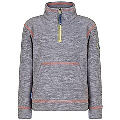 Regatta - Kids Grey Berty fleece
