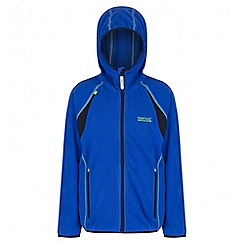 Regatta - Boys' blue Chromium fleece jacket