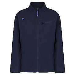 Regatta - Boys' navy Marlin fleece jacket