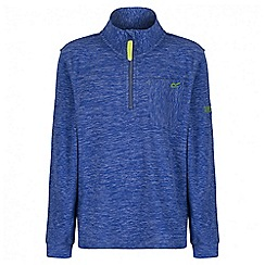 Regatta - Boys' blue Chopwell fleece