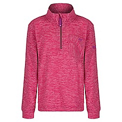 Regatta - Girls' pink Chopwell fleece
