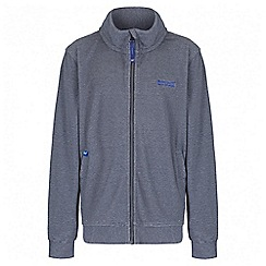 Regatta - Boys' navy Harlin fleece jacket