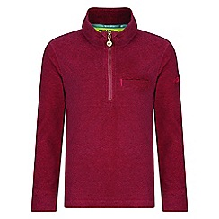 Regatta - Kids Pink 'Oaklands' fleece