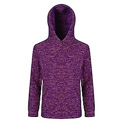 Regatta - Kids Purple 'Khrissa' fleece