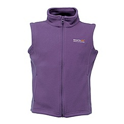 Regatta - Purple heart kids hotshot bodywarmer