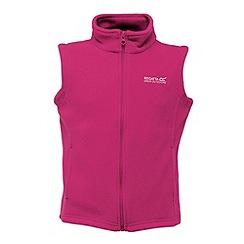 Regatta - Pink kids hotshot bodywarmer