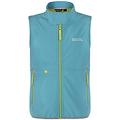Regatta - Girls Blue kaluga zip up body warmer
