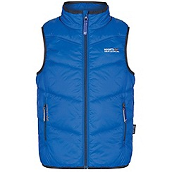 Regatta - Kids Blue Icebound body warmer