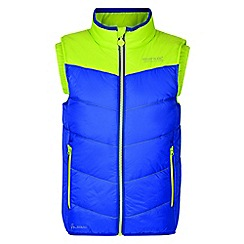 Regatta - Kids Blue 'Icebound' body warmer