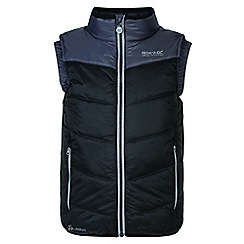 Regatta - Kids Black 'Icebound' body warmer