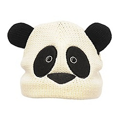 Regatta - Black/white- panda kids viva animal hat