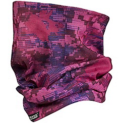 Regatta - Kids Pink printed multitube scarf
