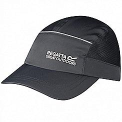 Regatta - Kids Grey shadie adjustable sports cap