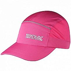 Regatta - Kids Pink shadie adjustable sports cap