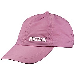 Regatta - Kids Pink chevi sports cap