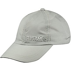 Regatta - Kids Grey chevi sports cap
