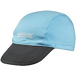 Regatta - Kids Blue pack it reversible peak cap