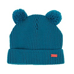 Regatta - Kids Blue Boggle bobble hat