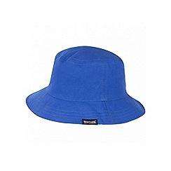 Regatta - Kids Blue Cruze reversible sun hat