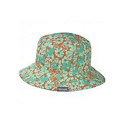 Regatta - Kids Mint green Cruze reversible sun hat
