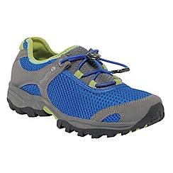 Regatta - Blue/green kids platipus shoe