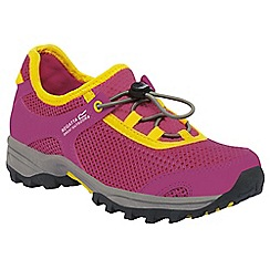 Regatta - Kids Pink/yellow platipus shoe