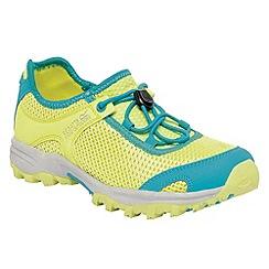 Regatta - Limegreen/ aqua kids platipus shoe