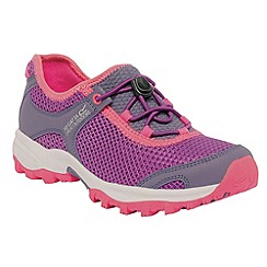 Regatta - Purple/ pink kids platipus shoe