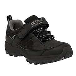 Regatta - Black/grey boy trailspace shoe