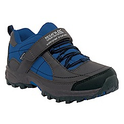 Regatta - Dark grey/blue boy trailspace shoe