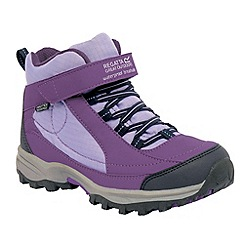 Regatta - Purple girls trailspace boot