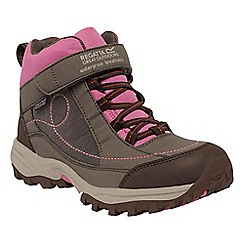 Regatta - Girls Cocon/redvio girls trailspace waterproof boot