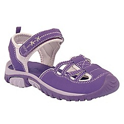 Regatta - Purple girls boardwalk sandal