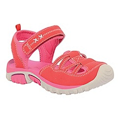 Regatta - Pink girls boardwalk sandal